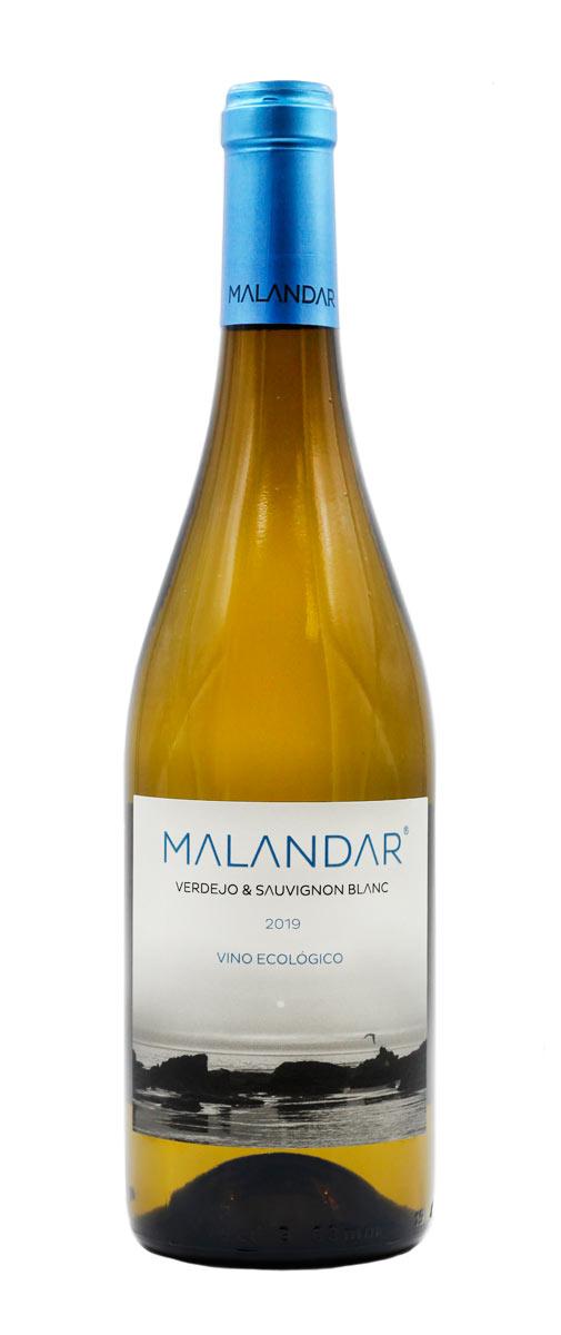 Finca Malandar Blanco Verdejo Sauvignon Blanc ecológico vegano